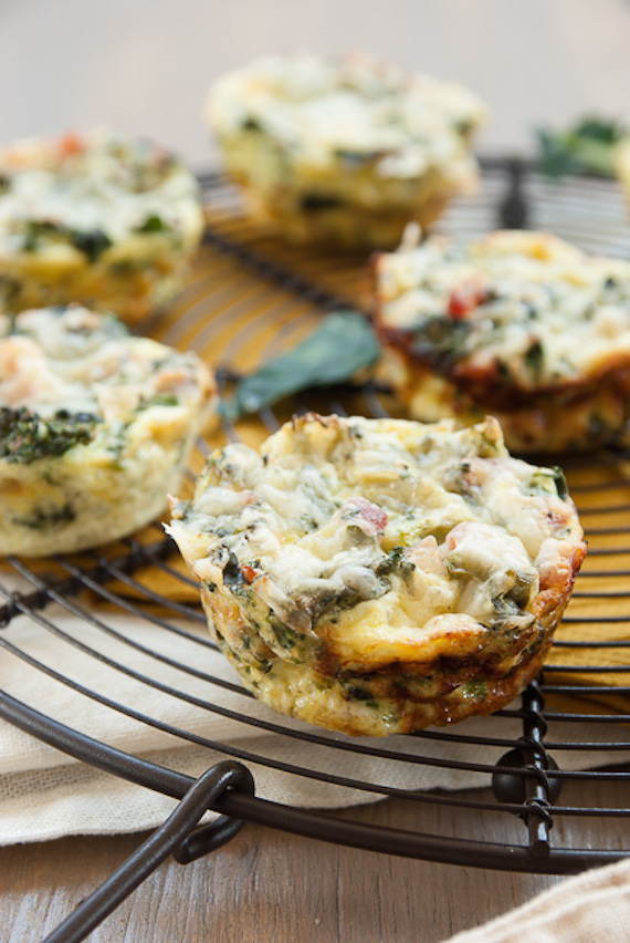 """<a href=""""http://www.goodlifeeats.com/2014/04/mini-crustless-kale-and-broccoli-quiches.html"""" target=""""_blank"""">Get the recipe fr"""