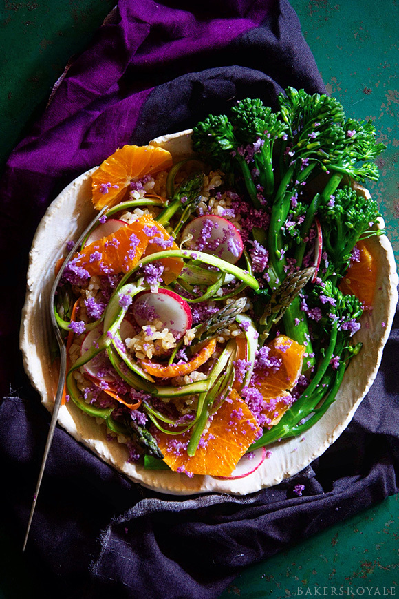 """<a href=""""http://www.bakersroyale.com/uncategorized/shaved-asparagus-salad/"""" target=""""_blank"""">Get the recipe from Bakers Royale"""