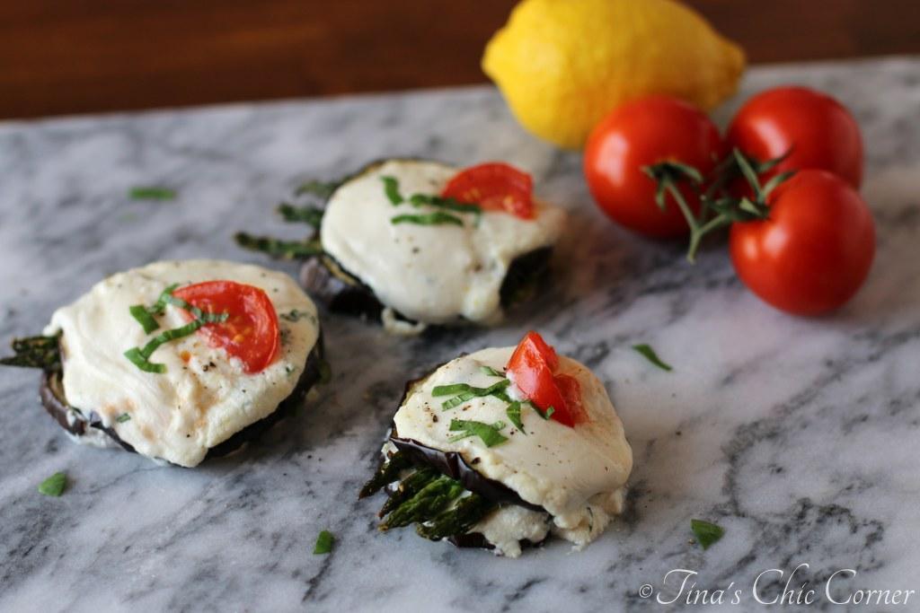 "<a href=""http://tinaschic.com/2014/04/eggplant-and-asparagus-stacks/"" target=""_blank"">Get the recipe of Tina's Chic Corner.</"