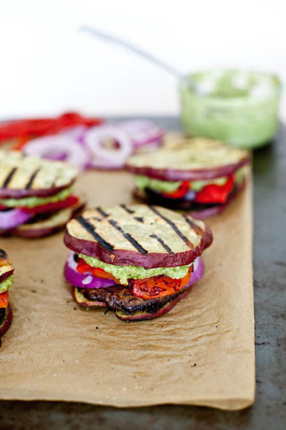 """<a href=""""http://ourfourforks.com/sweet-potato-bun/"""" target=""""_blank"""">Get the recipe from Our Four Forks here, </a>"""