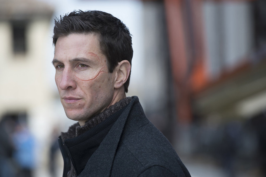 Pablo Schreiber, who plays the much-hated prison guard nicknamed Pornstache, made multiple guest appearances in Season 15 of