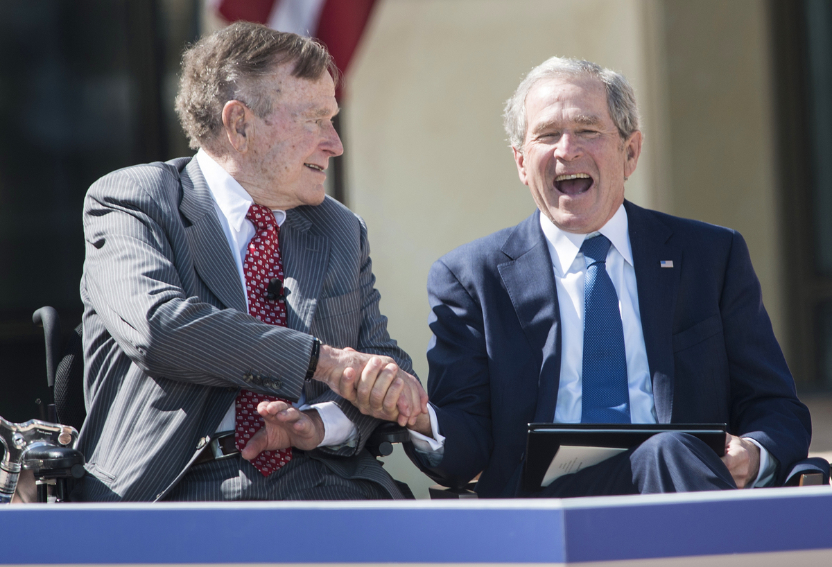 "The Bush family will go down as one of the foremost American political clans in recent history. With <a href=""http://www.huff"