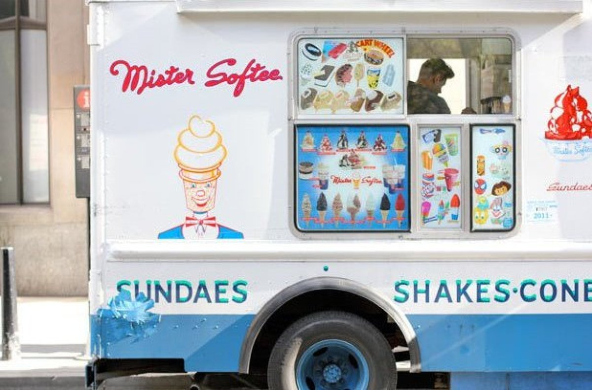If you spot a Mister Softee truck, look closely at the name; a Master Softee truck has been spotted in New York, and is being