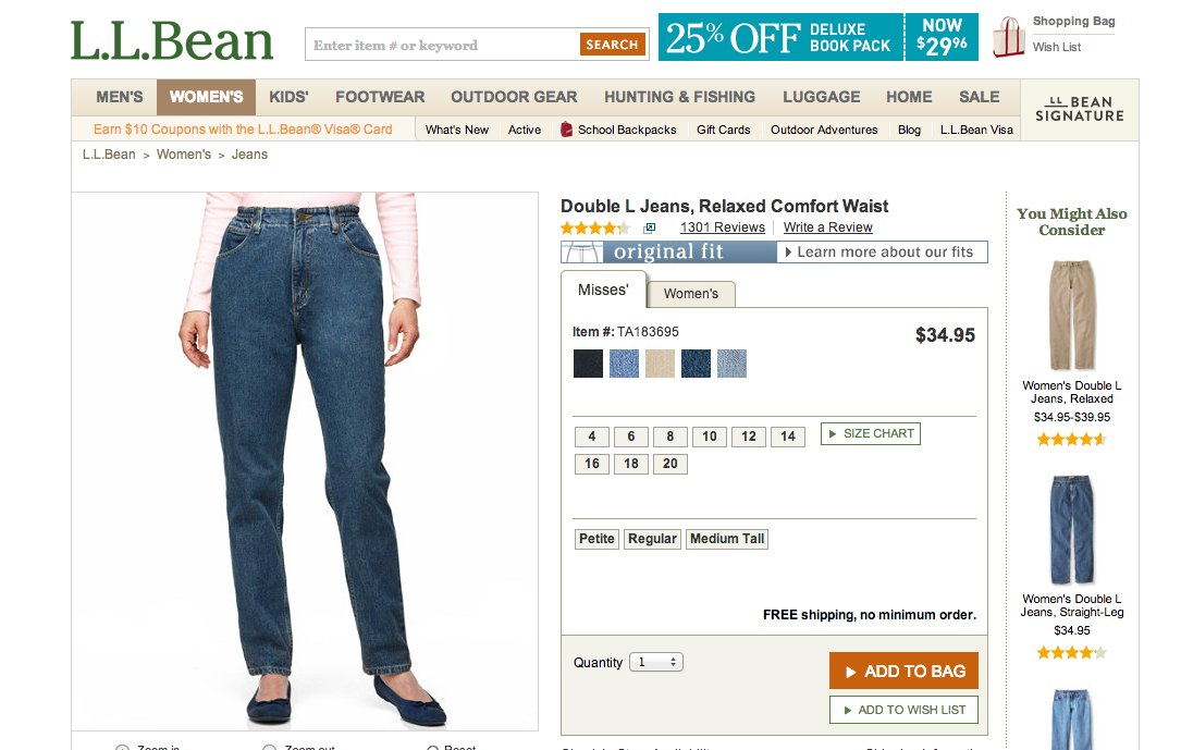"""<a href=""""http://www.llbean.com/llb/shop/31109?feat=513283-GN1&page=double-l-jeans-relaxed-comfort-waist"""" target=""""_blank"""">Doub"""
