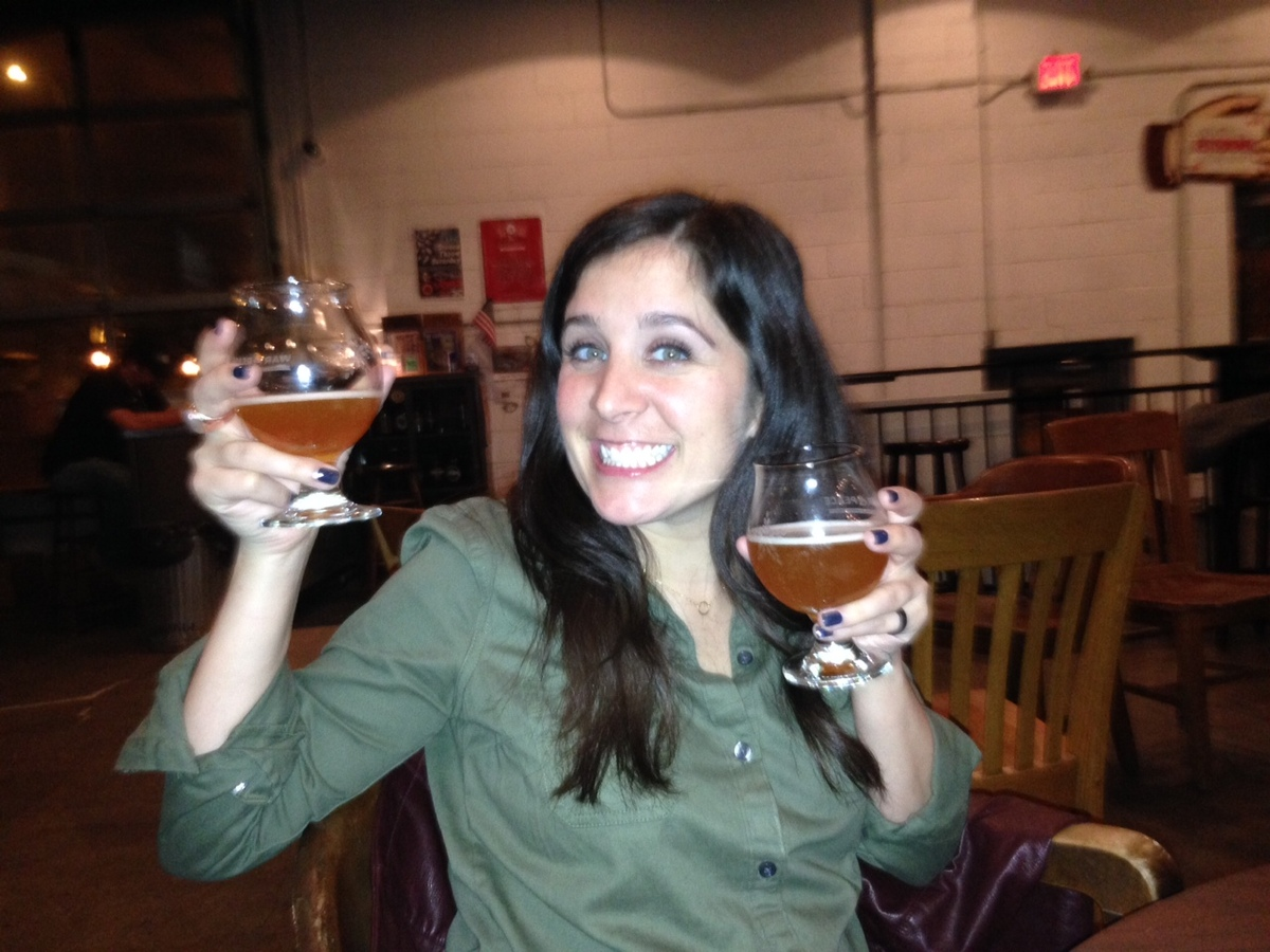 "<strong>Laurisa Milici, Founder of <a href=""http://radiantpigbeer.com/"" target=""_blank"">Radiant Pig</a></strong> <em>A craft"