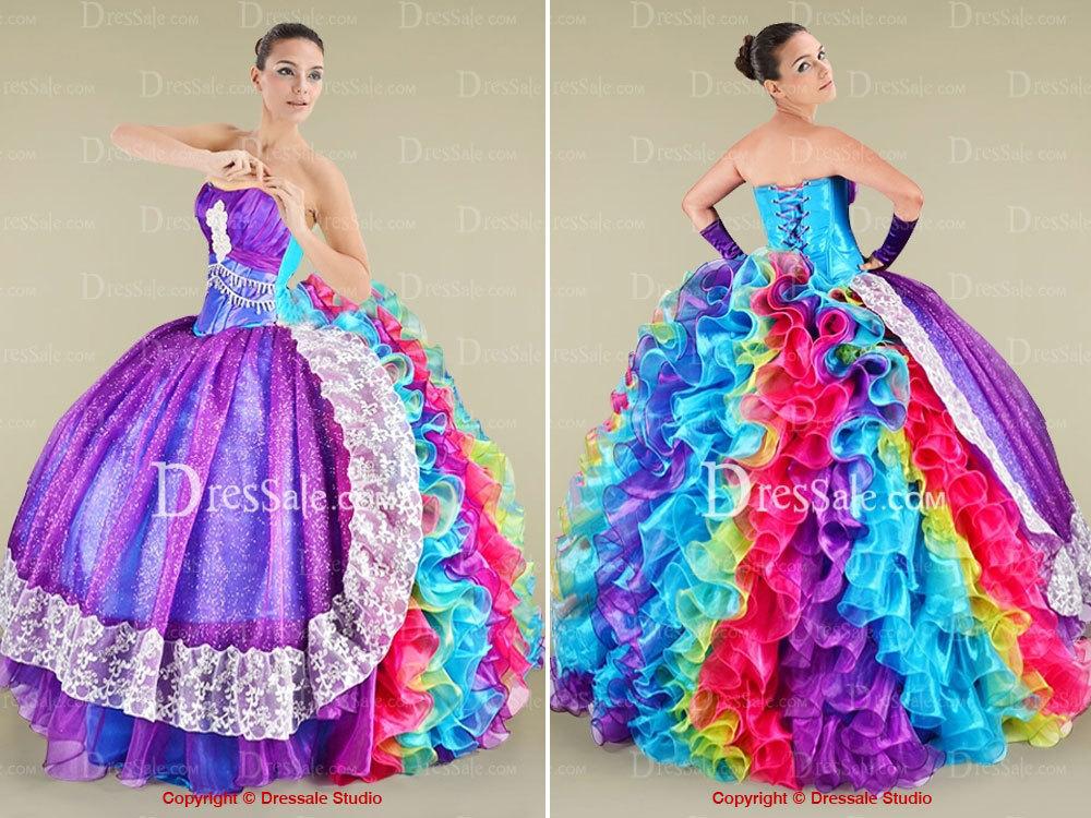 Los vestidos mas hermosos del mundo para graduacion