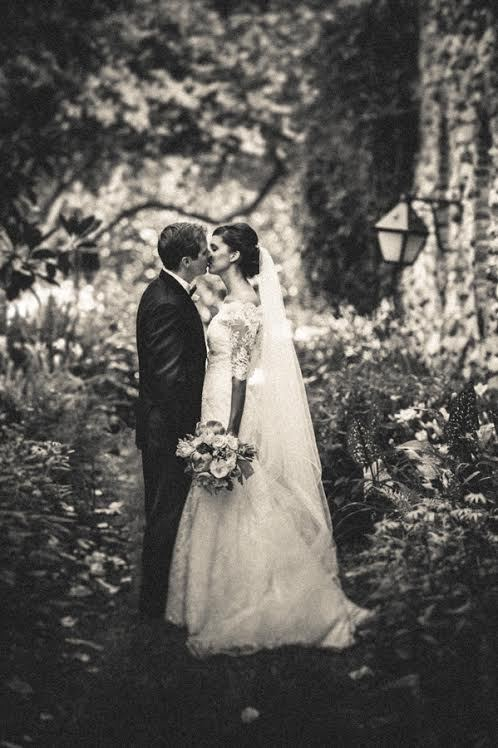 """""""Claire and Dan spent some time together before their ceremony and reception at Graylyn Center in Winston-Salem, NC"""" - Hooman"""