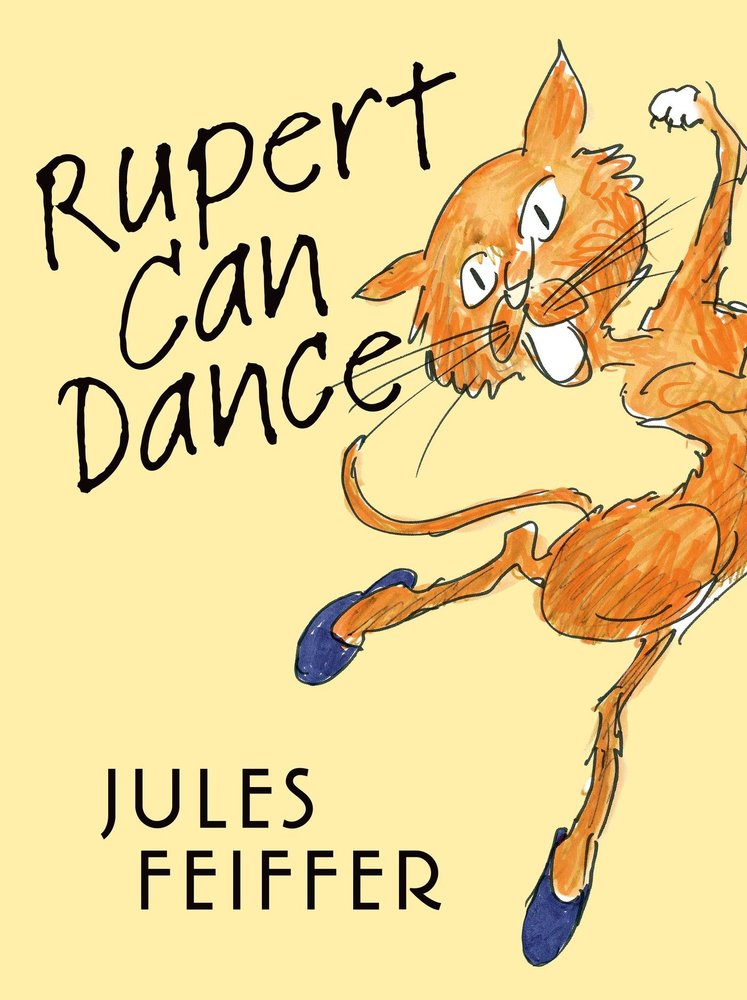 Rupert loves to dance, but like most cats, he is very independent.  He likes to dance in secret, alone, in the middle of the