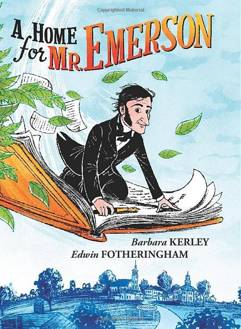 I have a funny feeling that kids today don't know who Ralph Waldo Emerson is. Just a hunch. Barbara Kerley continues her trad