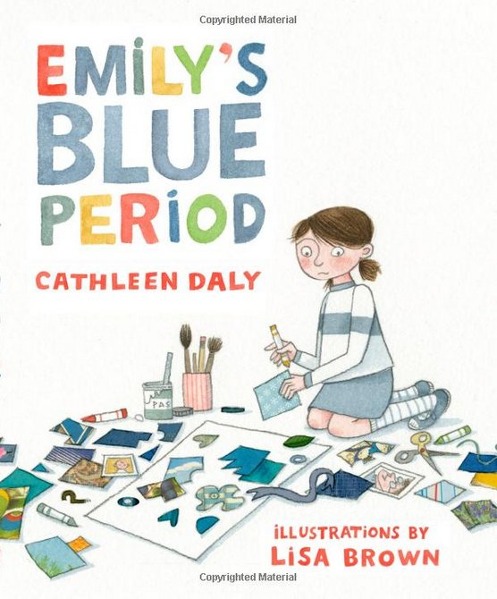 Part picture book, part chapter book, and all heart, <em>Emily's Blue Period</em> tackles a tough subject in a sensitive and