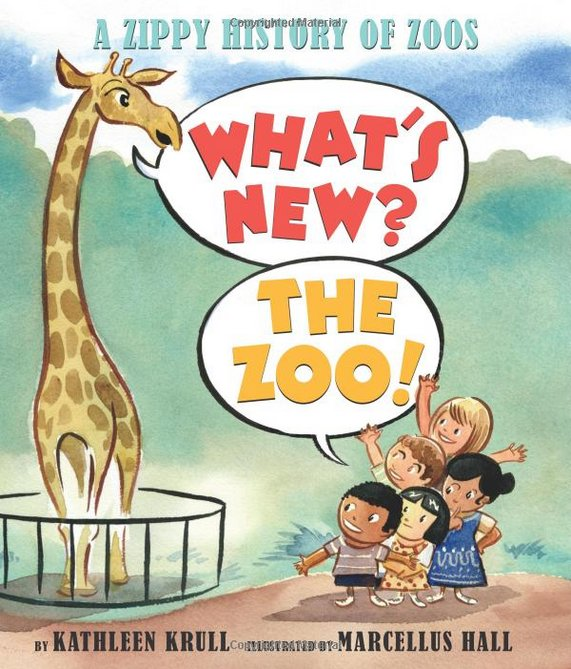 Chances are, you'll make a trip to a zoo this summer. Before you go, let your kids read up on the history of zoos in this fab