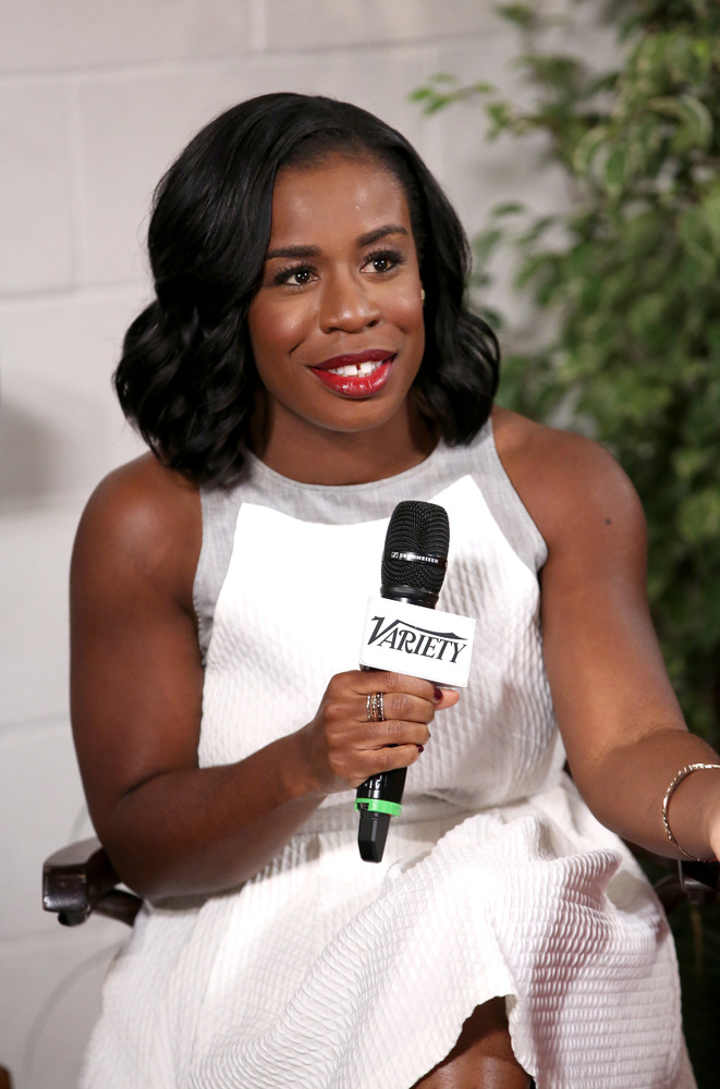 WEST HOLLYWOOD, CA - MAY 28:  Actress Uzo Aduba attends the Variety Studio powered by Samsung Galaxy on May 28, 2014 in West