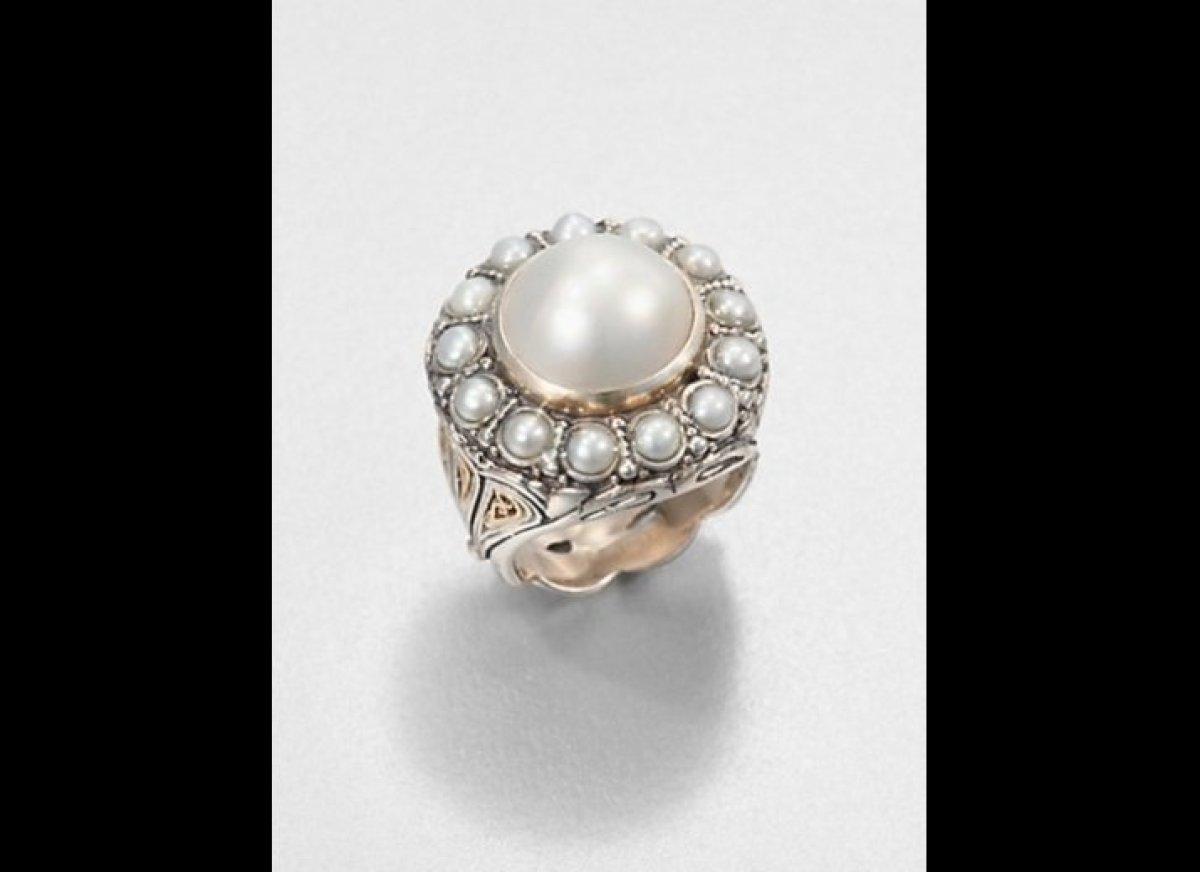 Pretty Pearl Engagement Rings For Brides Born In June HuffPost