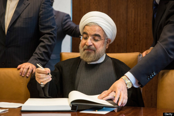 The thaw in relations owes a lot to this guy - president Hassan Rouhani, who was elected in June 2013.  In the 19 months betw
