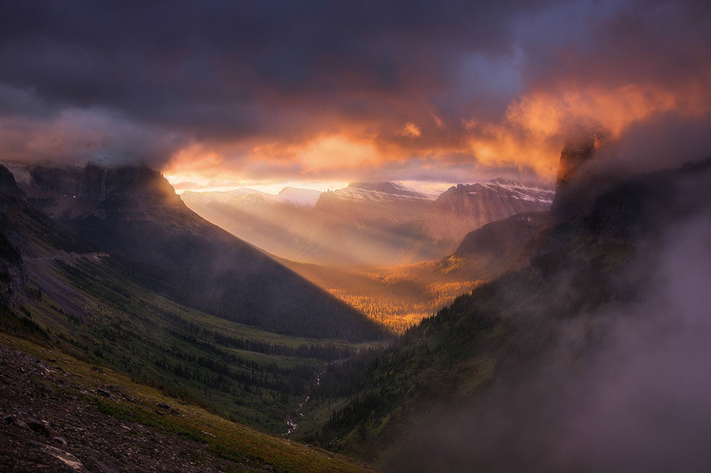 Glacier National Park. Winner: USA Landscape Photographer of the Year 2014