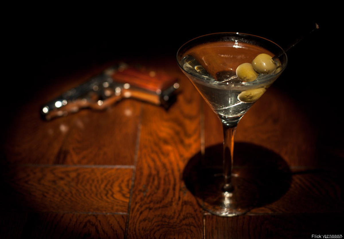 The Martini is forever the gentleman's classic- the name alone garners images of manly man James Bond ordering his all time f