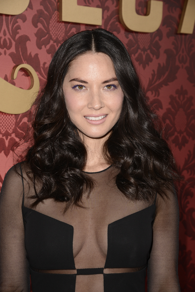 """Actress Olivia Munn attends the premiere of the feature film """"Mortdecai"""" in Los Angeles on Wednesday, Jan. 21, 2015. (Photo b"""