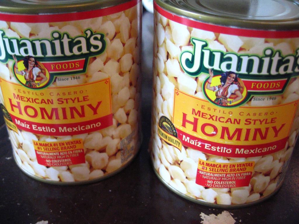 """You can also find it dried. To rehydrate hominy, just cook them up like <a href=""""http://www.huffingtonpost.com/2013/03/20/don"""