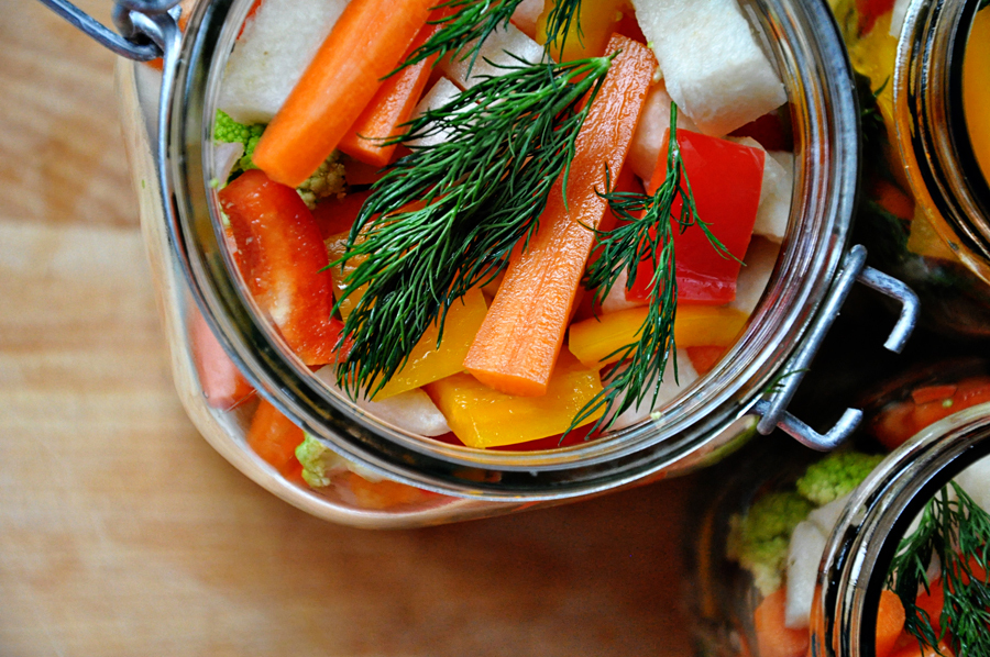 "<strong>Get the <a href=""http://food52.com/recipes/9470-giardiniera"" target=""_blank"">Giardiniera recipe</a> from The Parsley"