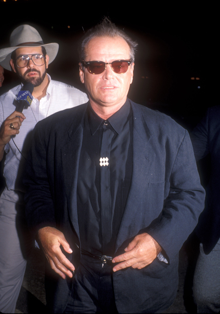 "Jack Nicholson during ""Batman"" Los Angeles Premiere at Mann Village theater in Westwood, California, United States."