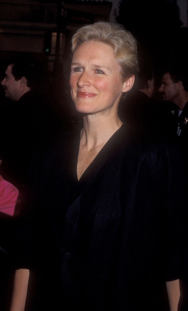 "Glenn Close during ""Batman"" Los Angeles Premiere at Mann Village theater in Westwood, California, United States."