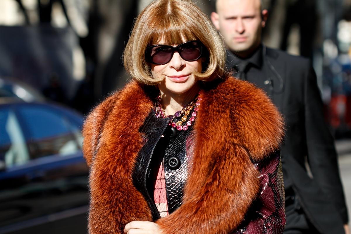 At Milan Fashion Week on February 27, 2012.
