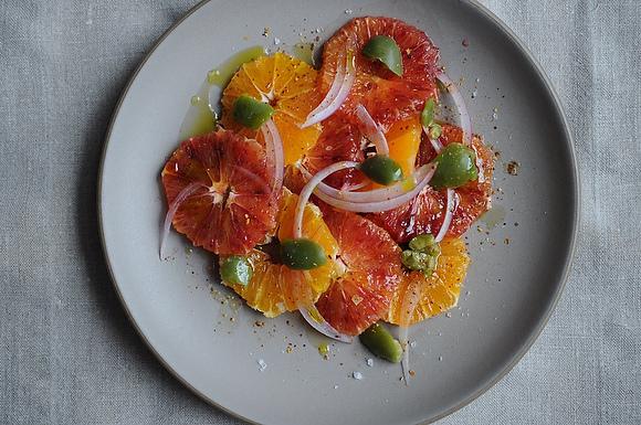 """<strong>Get the <a href=""""http://food52.com/recipes/9440-blood-orange-salad-with-olives"""" target=""""_blank"""">Blood Orange Salad wi"""