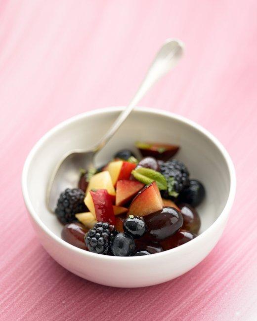 "<strong>Get the <a href=""http://www.marthastewart.com/338691/ruby-fruit-salad?czone=food%2Fbrunch-center%2Fbrunch-baked-sweet"