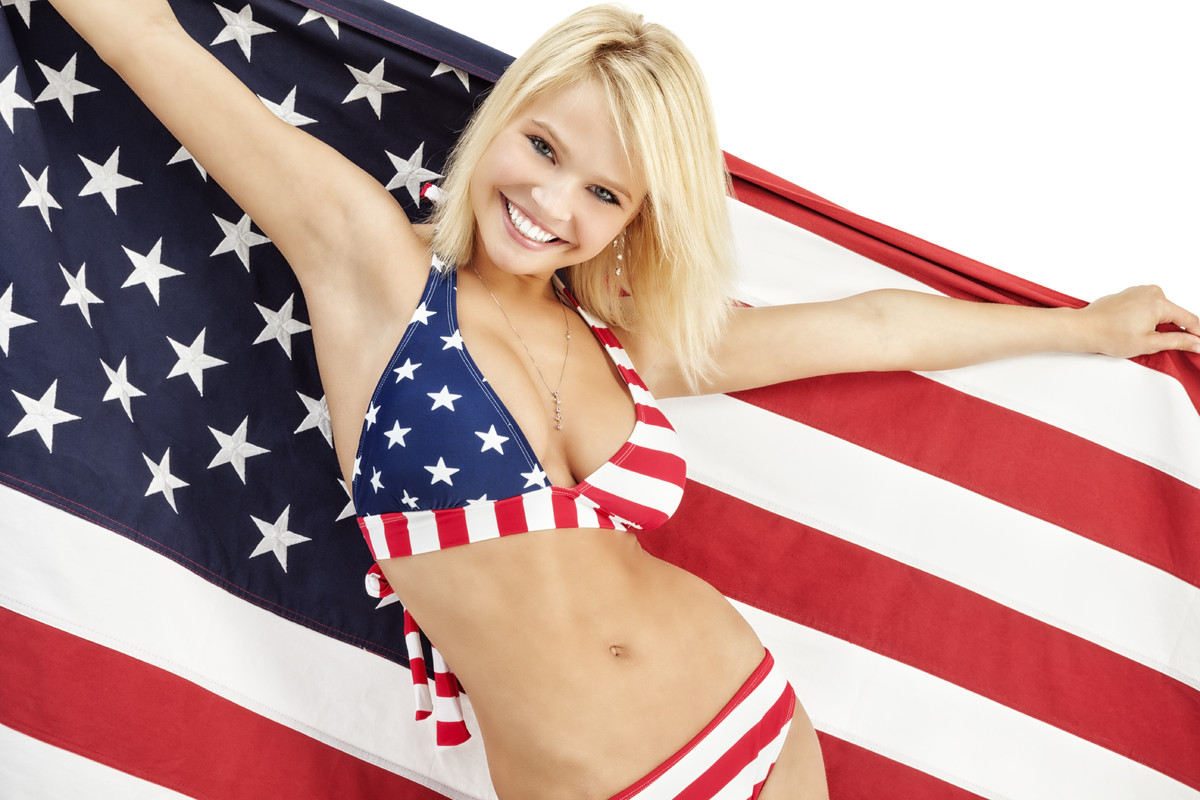Sure, much of Americana fashion is flag-inspired but that doesn't mean you need to wear the whole flag.