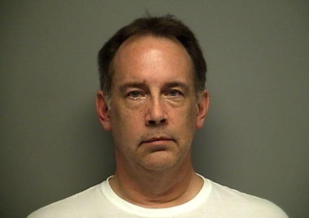 Steven Zelich's police mug shot.