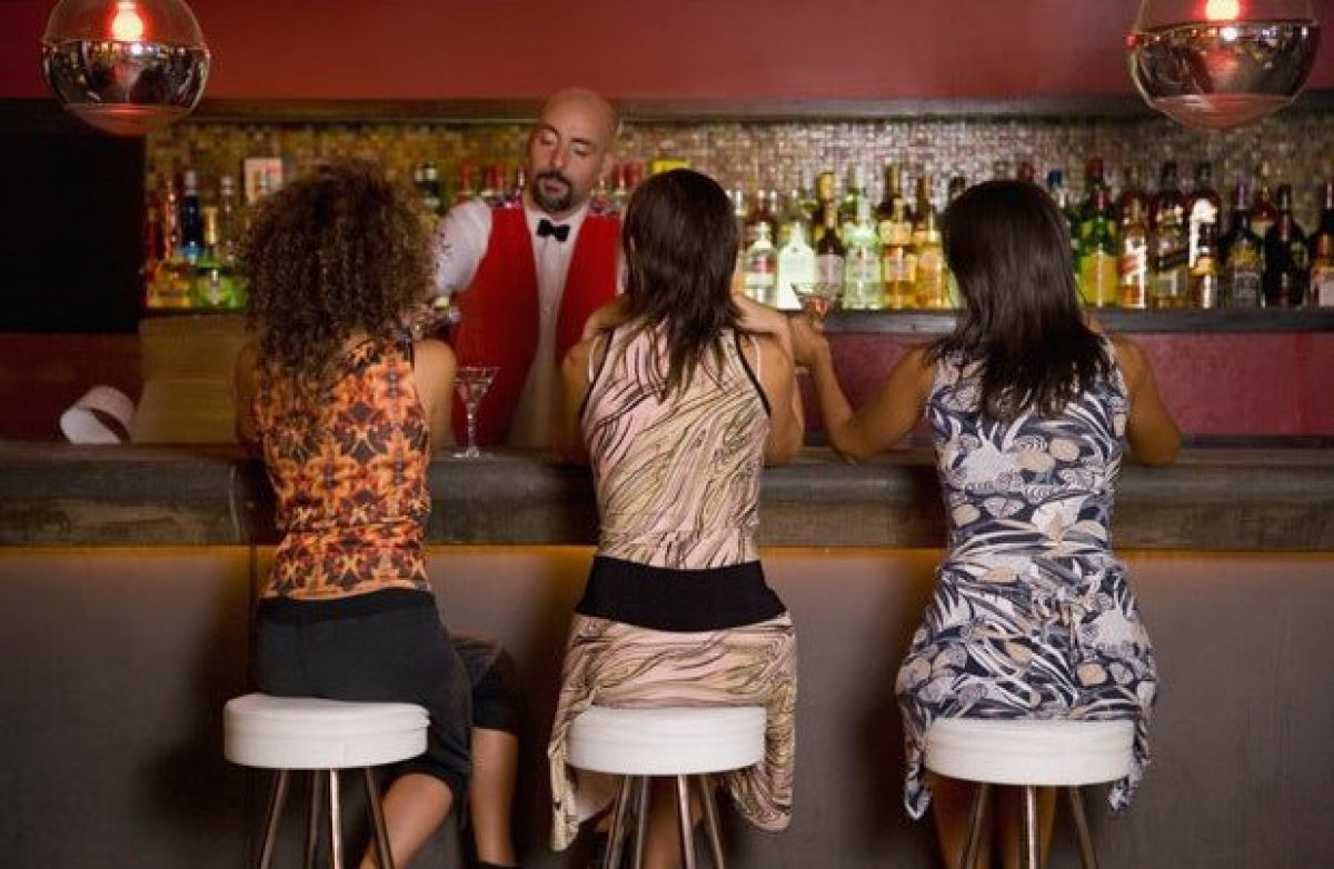 """Make a mess. There's a Sheryl Crow song where she watches the man beside her at the bar """"peel the labels from his bottles of"""
