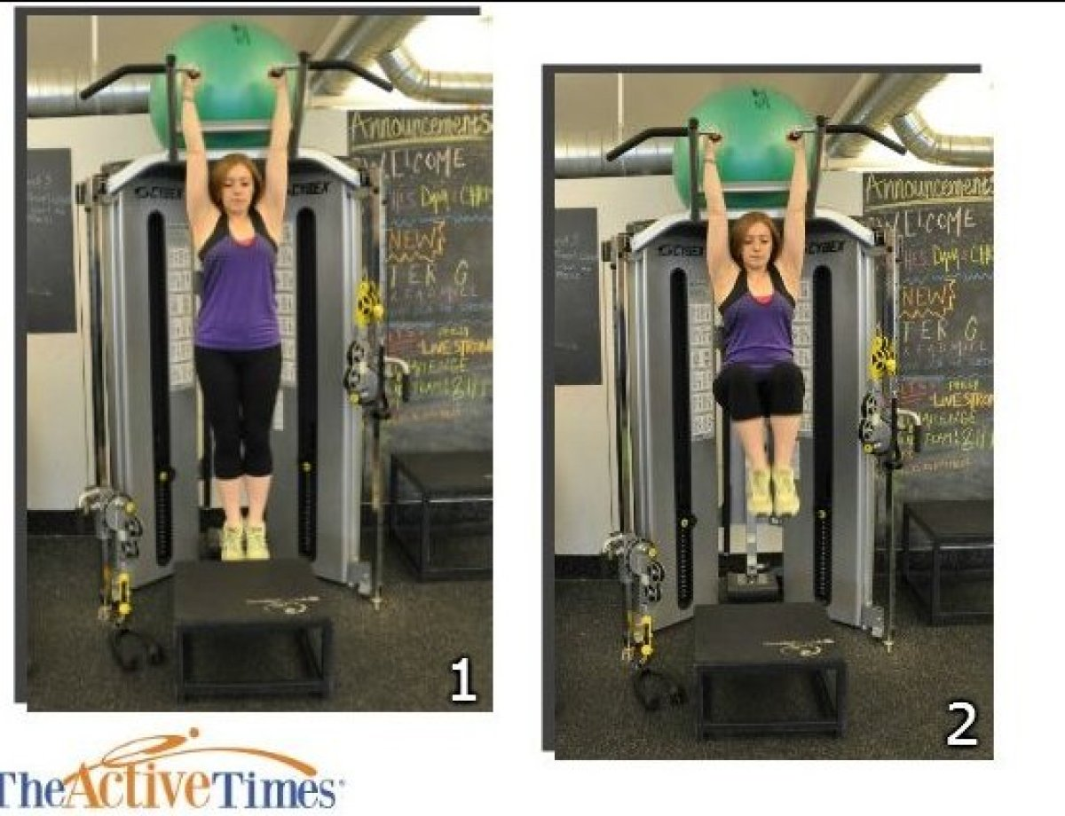 This exercise primarily targets your lower abdominal muscles and also includes an isometric component for the muscles of your