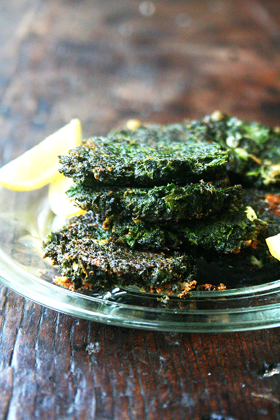 """<strong>Get the <a href=""""http://www.alexandracooks.com/2014/06/18/chard-fritters-montreal/"""" target=""""_blank"""">Chard Fritters re"""