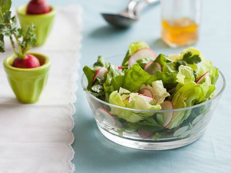 """<strong>Get the <a href=""""http://www.huffingtonpost.com/2011/10/27/spring-herb-salad-with-ra_n_1061088.html"""" target=""""_blank"""">S"""