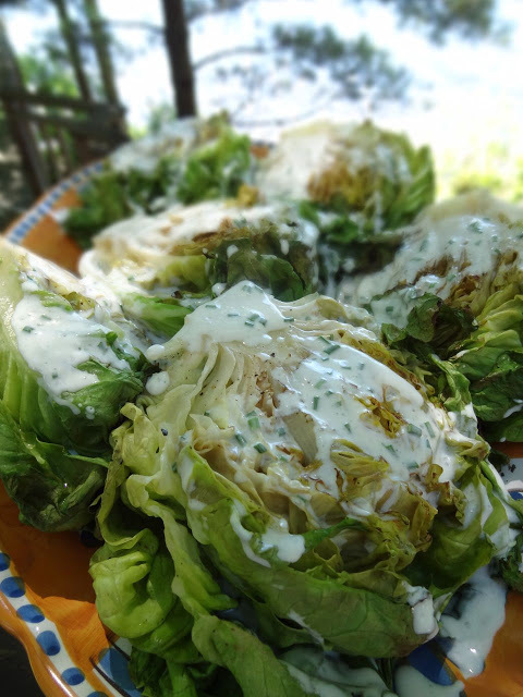 """<strong>Get the <a href=""""http://scrumpdillyicious.blogspot.com/2012/08/grilled-lettuce-salad-with-buttermilk.html"""" target=""""_b"""