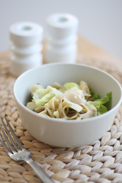 """<strong>Get the <a href=""""http://www.foodwoolf.com/2011/09/cheap-meal-budget-recipes.html"""" target=""""_blank"""">Butter Lettuce and"""