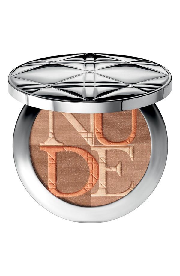 "$56, <a href=""http://shop.nordstrom.com/s/dior-diorskin-nude-shimmer-instant-illuminating-powder-kabuki-brush/3743255?origin="