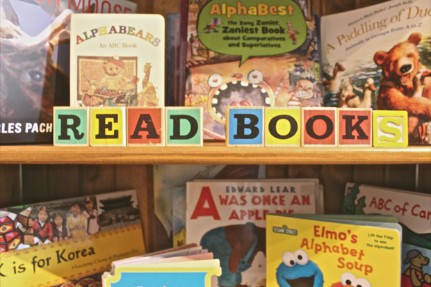 """Many children have never had the experience of actually owning their own books. The <a href=""""http://www.childrensbookbank.com"""