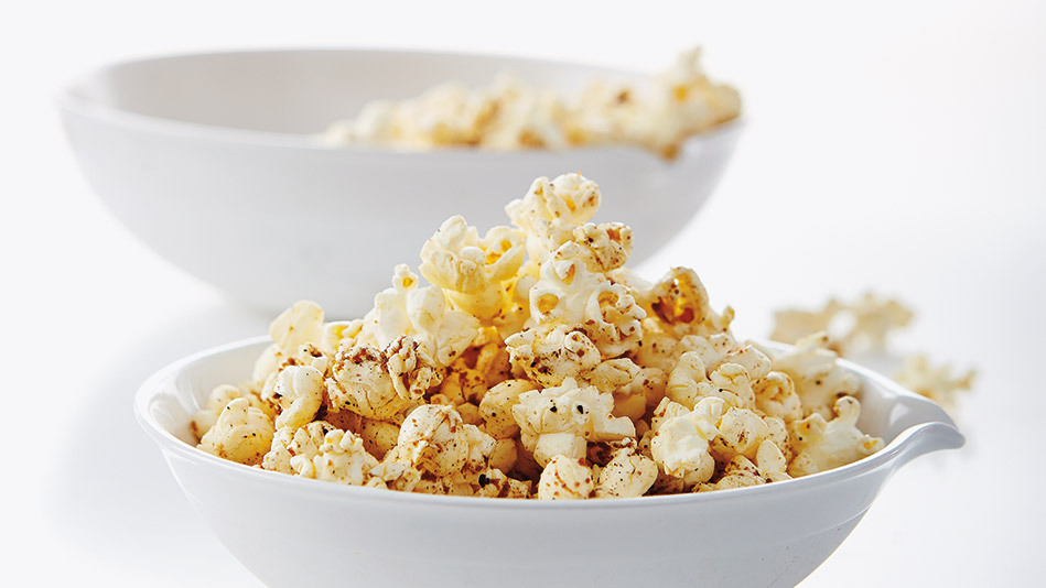Many movie theaters use coconut oil to pop their corn, and while that may taste wonderful, it isn't the healthiest method (<a