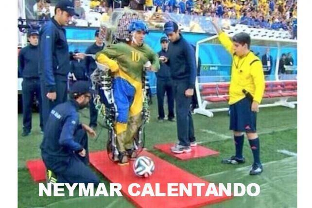 """Neymar Warming Up"""