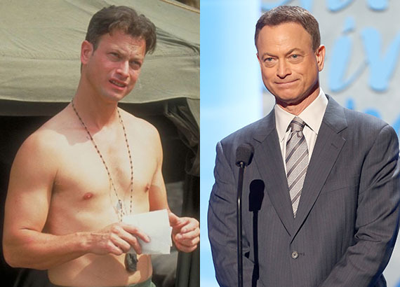 """Gary Sinise has played a lot of parts since """"Forrest Gump,"""" but we're always going to remember him best as Lieutenant Dan. Af"""