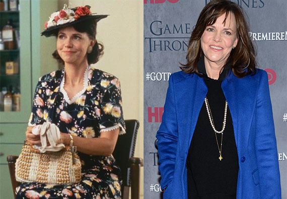 """After """"Forrest Gump,"""" Sally Field moved away from movies (with the exception of a few) to play more roles on the small screen"""