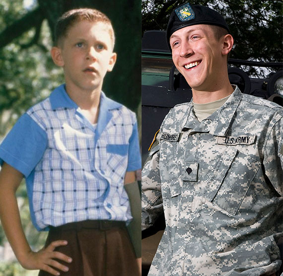 Michael Conner Humphreys made his acting debut as the young Forrest, but decided the profession wasn't for him. He grew up as