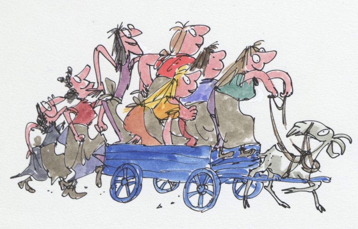 The Wild Washerwomen, ©Quentin Blake, 1979