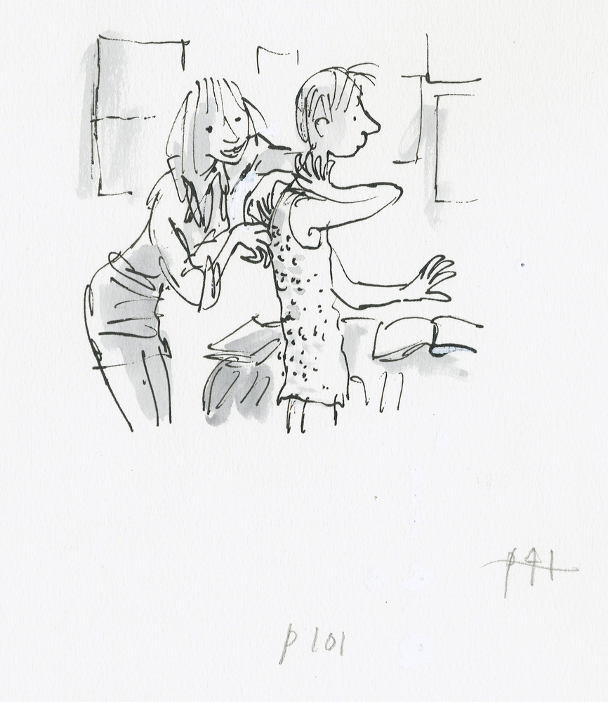 The Boy in The Dress, ©Quentin Blake, 2008