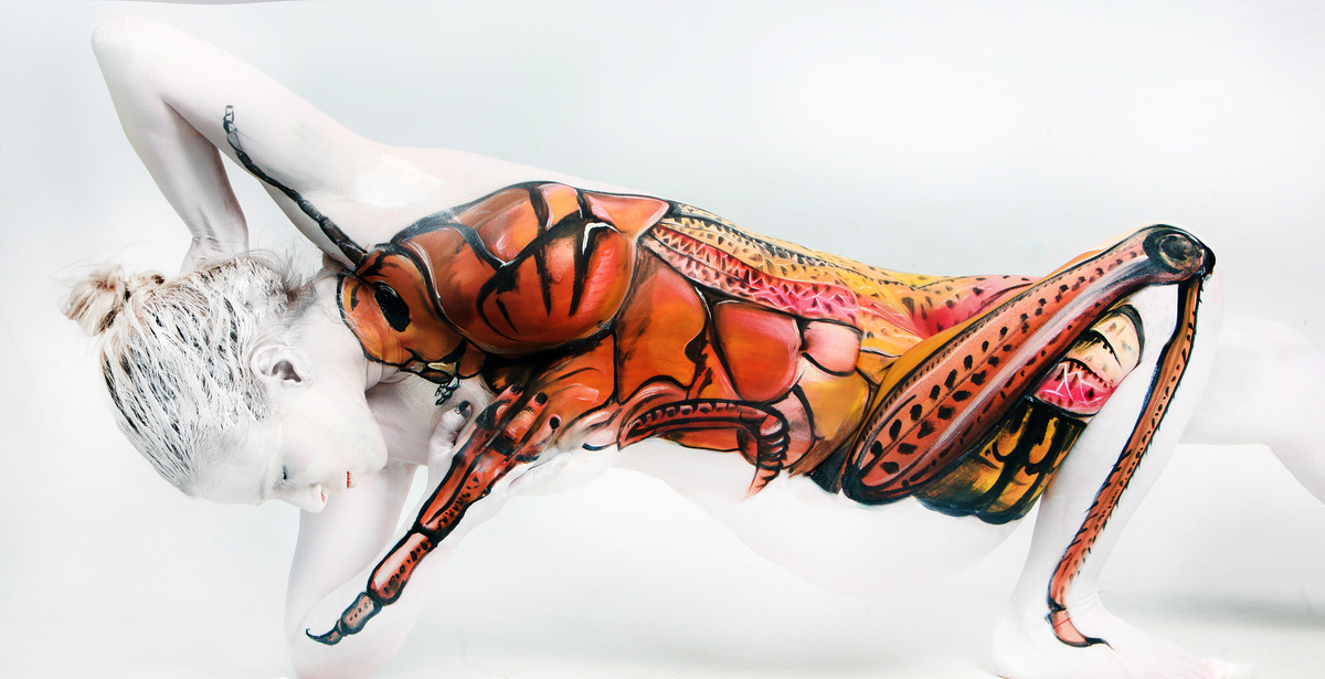 Can You Believe This Is Body Paint HuffPost - Artist turns humans amazing animal portraits using body paint