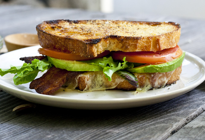 """<strong>Get the <a href=""""http://food52.com/recipes/17938-cali-blt"""" target=""""_blank"""">Cali BLT</a> recipe by Bijouxs via Food52<"""