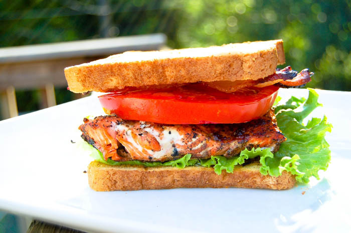 """<strong>Get the <a href=""""http://food52.com/recipes/5819-salmon-blt-s"""" target=""""_blank"""">Salmon BLT</a> recipe by mtlabor via Fo"""