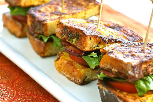 """<strong>Get the <a href=""""http://www.eisforeat.com/2012/02/t-is-for-toasty-french-blts.html"""" target=""""_blank"""">French Toast BLT<"""
