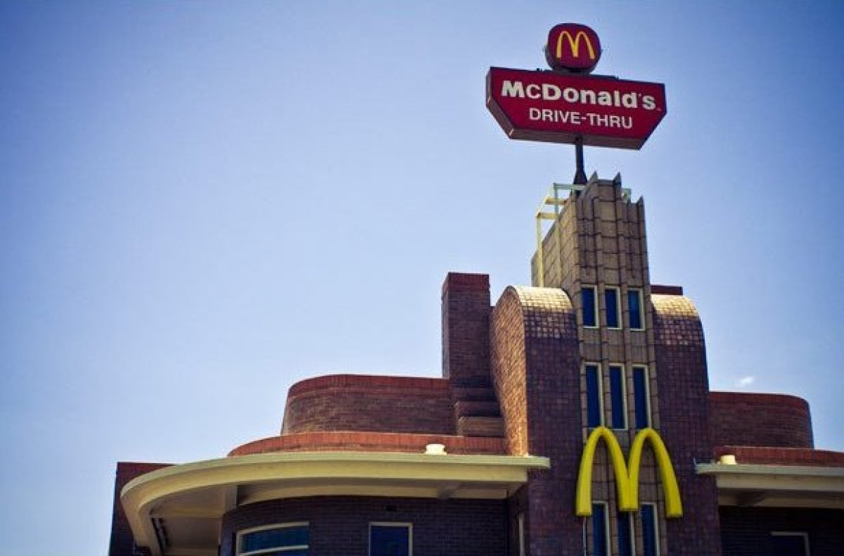 """The Art Deco McDonald's in Clifton Hill, Victoria was once an <a href=""""http://www.collingwoodhs.org.au/index.php?p=3_5"""" targe"""